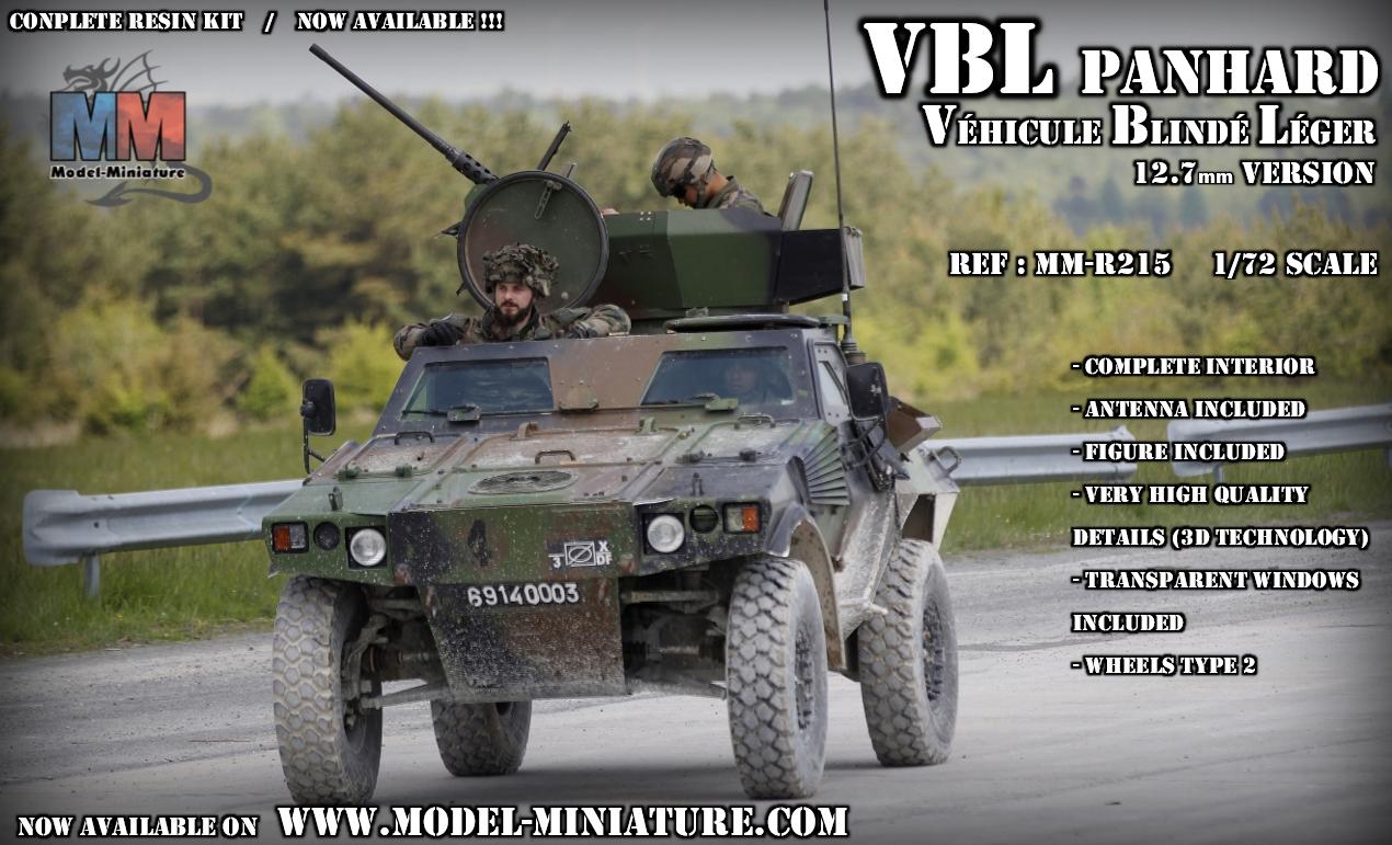 vbl panhard ehicule blinde leger maquette scale 1.72 12.7mm model reduit VBL.jpg armee francaise