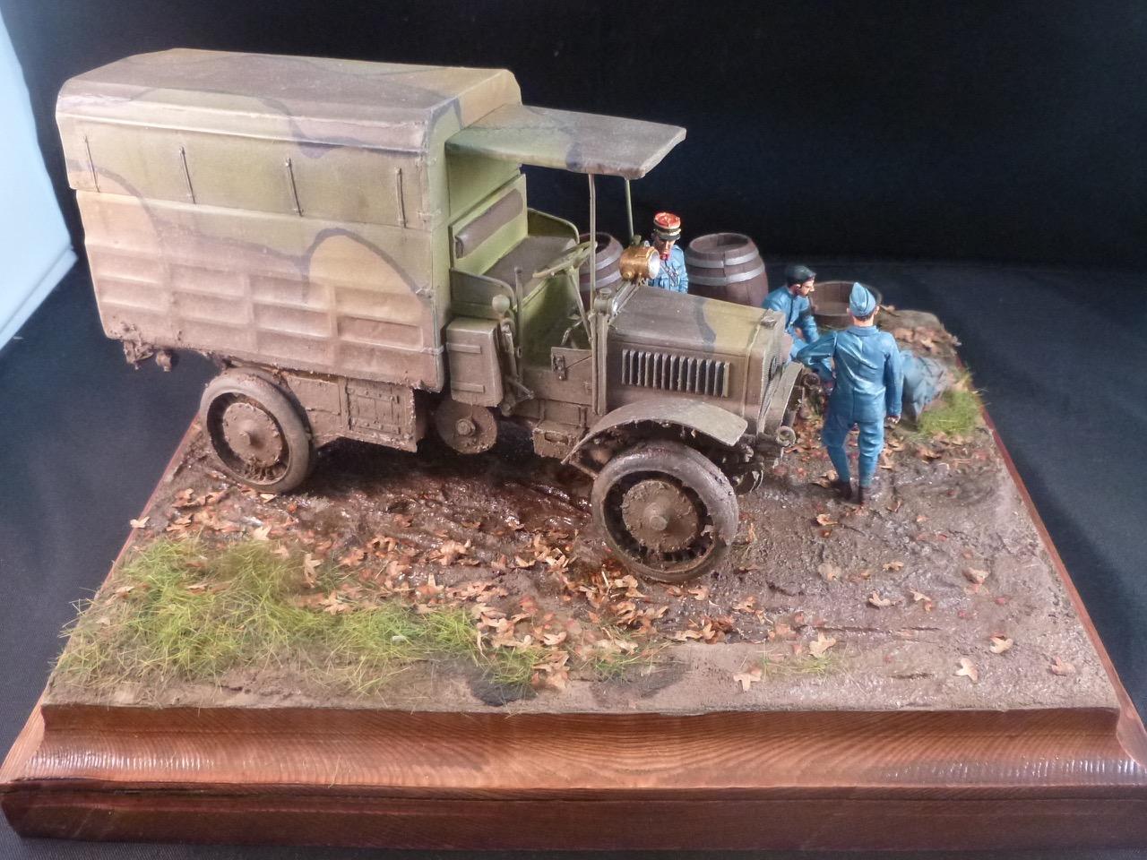 Camion Chatillon Panhard 1917 - résine de chez Blitz au 1/35 - Page 4 170531113122455693
