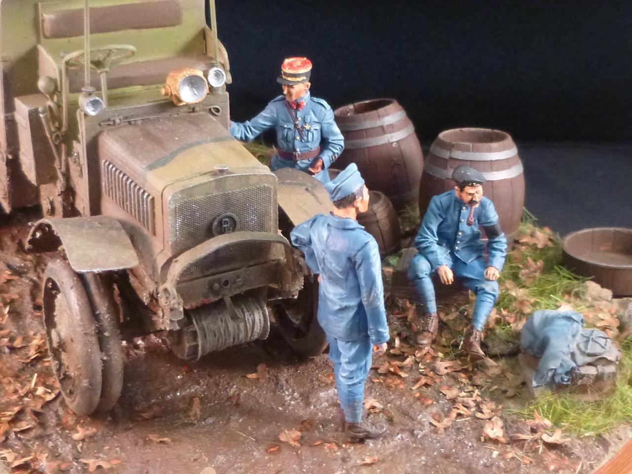 Camion Chatillon Panhard 1917 - résine de chez Blitz au 1/35 - Page 4 170531113219699713