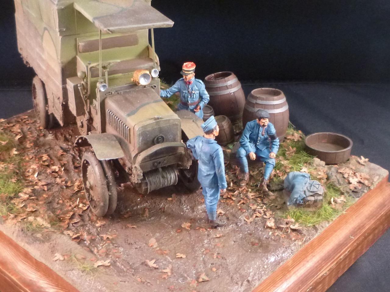 Camion Chatillon Panhard 1917 - résine de chez Blitz au 1/35 - Page 4 170531113226468240