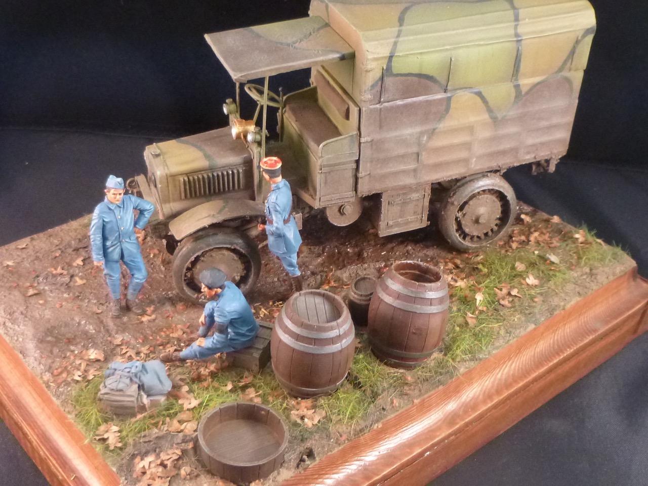 Camion Chatillon Panhard 1917 - résine de chez Blitz au 1/35 - Page 4 170531113503603010