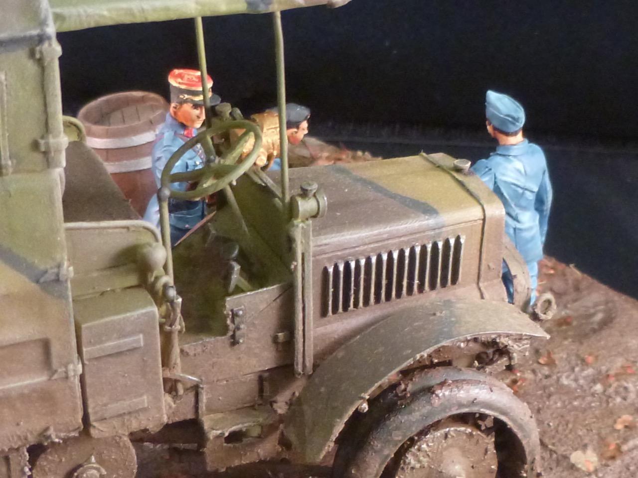 Camion Chatillon Panhard 1917 - résine de chez Blitz au 1/35 - Page 4 170531113828279006