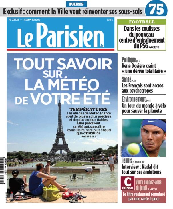 télécharger Le Parisien Du Jeudi 1 Juin 2017