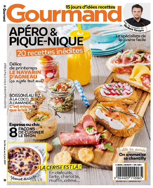 télécharger Gourmand N°372 Du 24 Mai au 6 Juin 2017