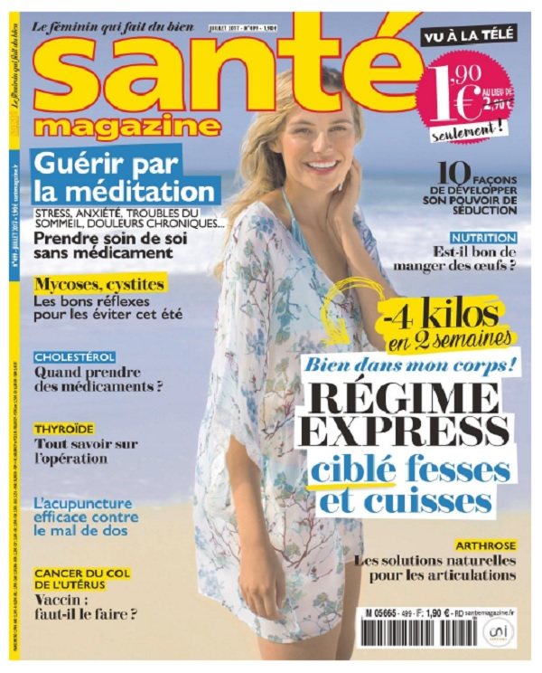 télécharger Santé Magazine N°499 - Juillet 2017