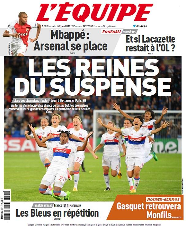 télécharger L'Equipe Du Vendredi 2 Juin 2017