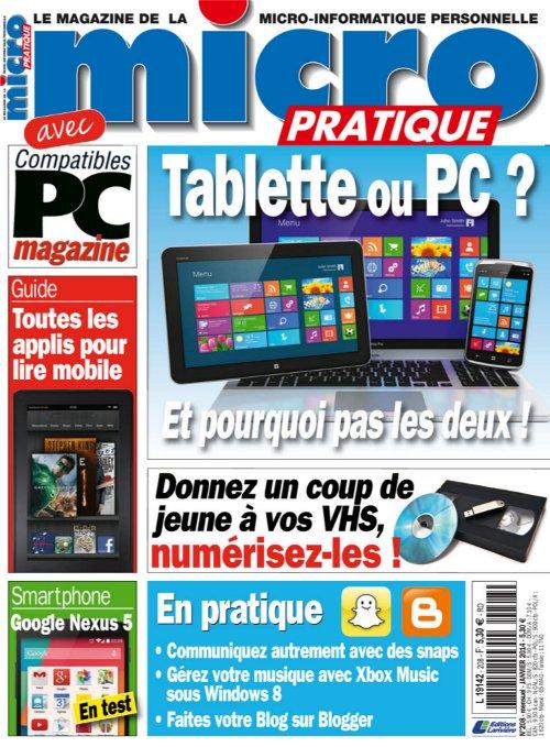 Micro Pratique N°208 - Tablette ou PC ? Et Pourquoi pas les Deux ! sur Bookys