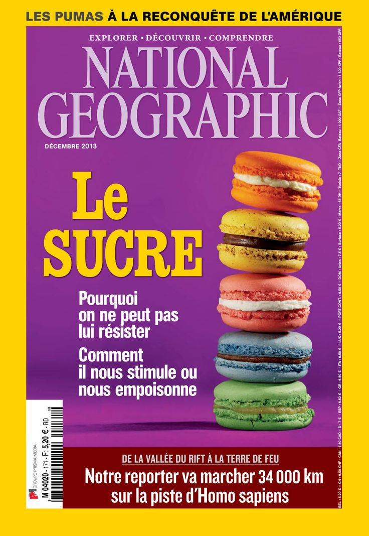 National Geographic N°171 - Le Sucre sur Bookys