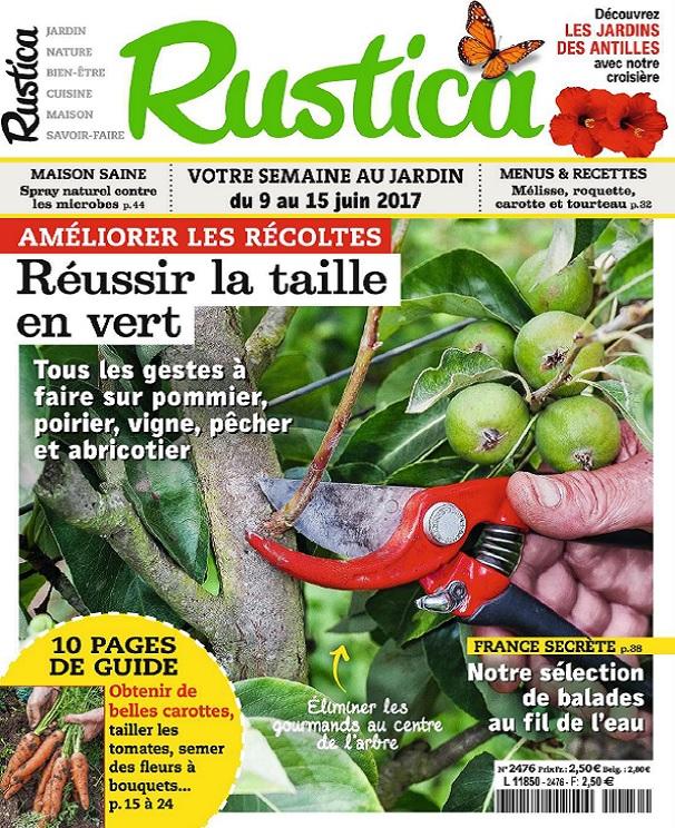 Rustica N°2476 Du 9 Au 15 Juin 2017