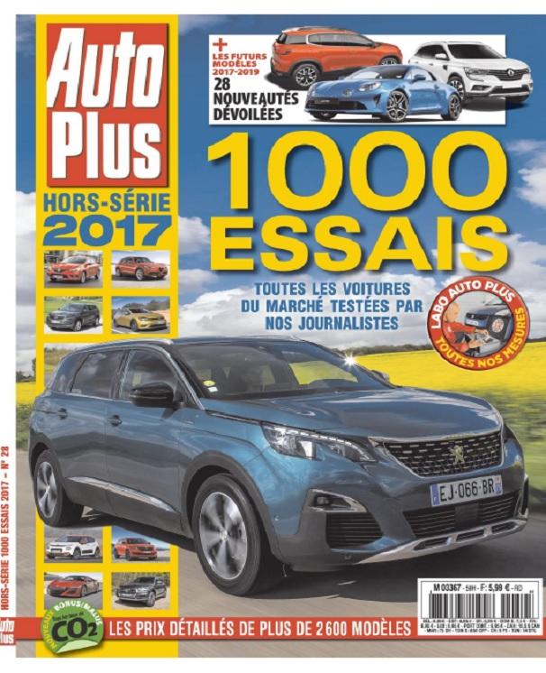 télécharger Auto Plus Hors Série N°59 - 1000 Essais 2017