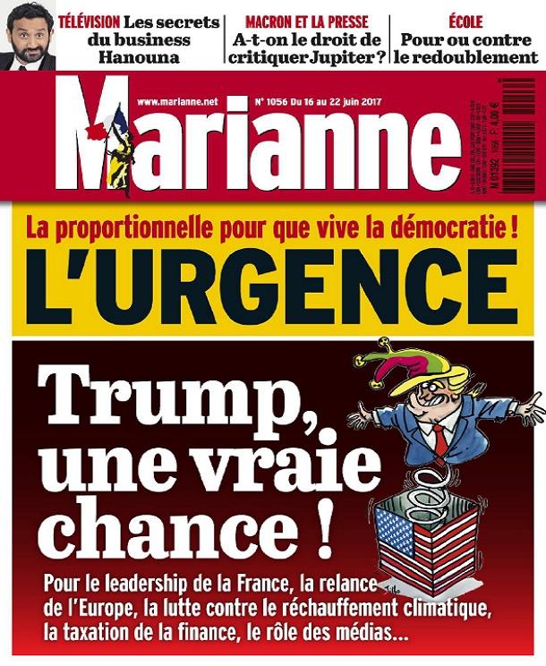 télécharger Marianne N°1056 Du 16 au 22 Juin 2017