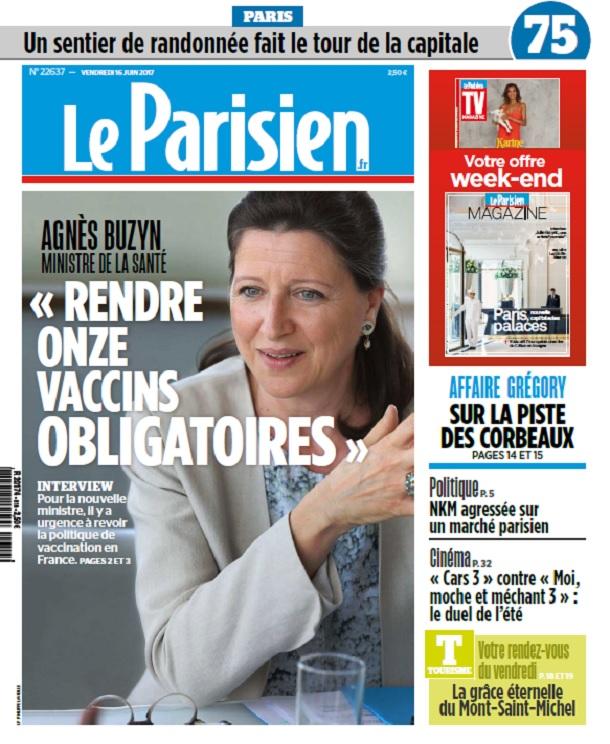 télécharger Le Parisien + Magazine + Journal De Paris Du Vendredi 16 Juin 2017