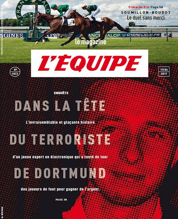 télécharger L'Equipe Magazine N°1822 Du 17 Juin 2017
