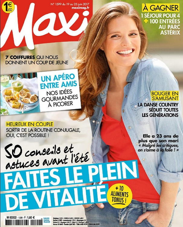 télécharger Maxi N°1599 Du 19 au 25 Juin 2017