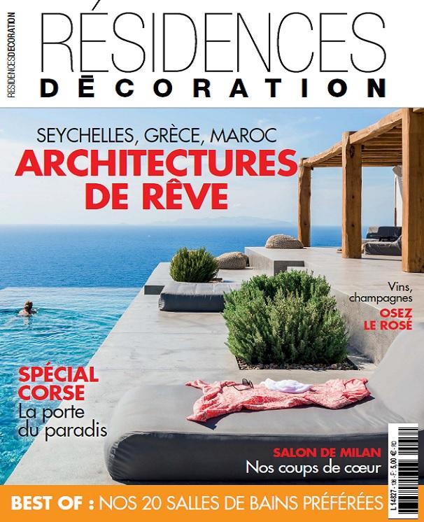 télécharger Residences Decoration N°136 - Juillet-Aout 2017
