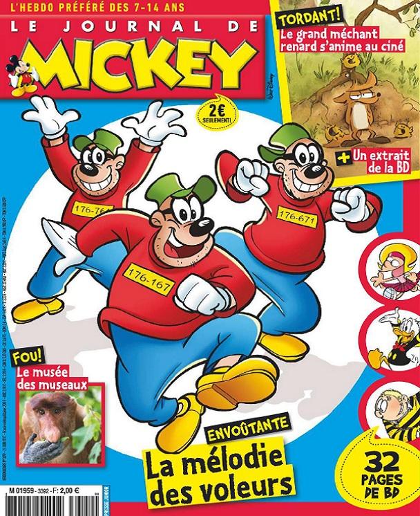 télécharger Le Journal De Mickey N°3392 Du 21 Juin 2017