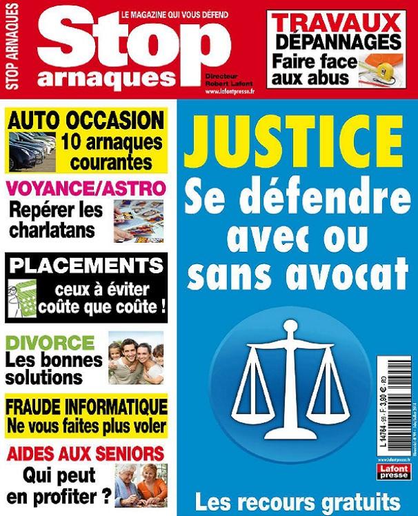 télécharger Stop Arnaques N°99 - Justice