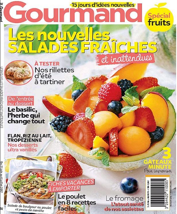 Gourmand N°374 Du 21 Juin Au 4 Juillet 2017