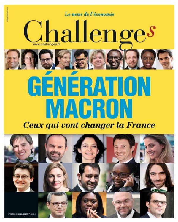 Challenges N°525 Du 22 au 28 Juin 2017