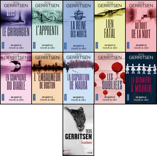 Rizzoli And Isles - Tess Gerritsen - Saga Complète (11 Tomes)