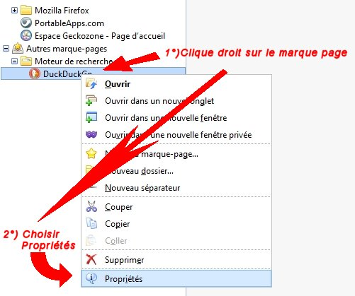 retrouver marque page firefox