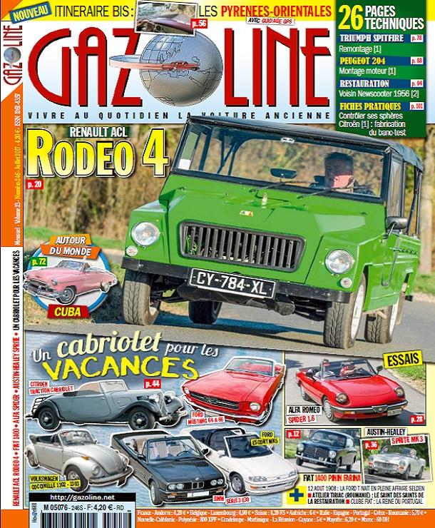 télécharger Gazoline N°246 - Juillet 2017