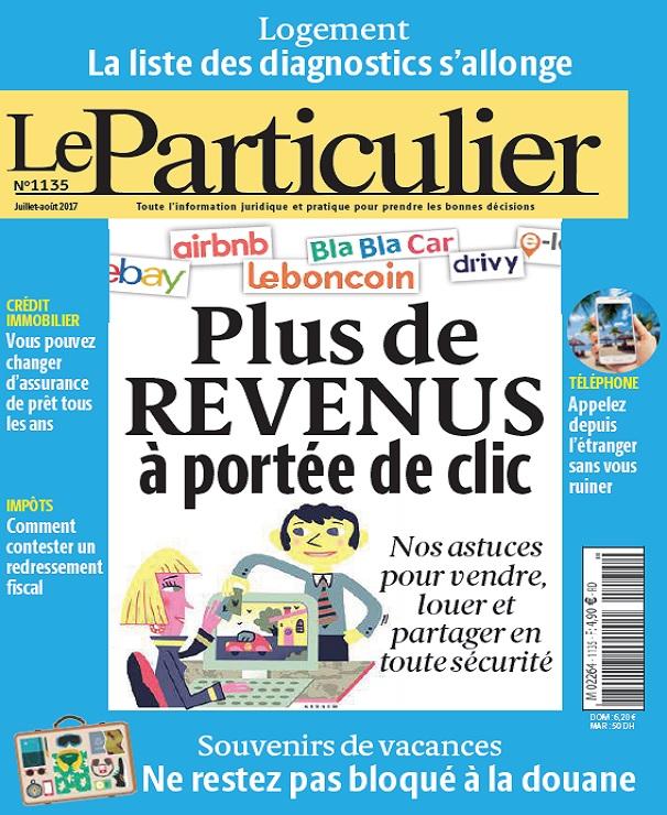 télécharger Le Particulier N°1135 - Juillet-Août 2017
