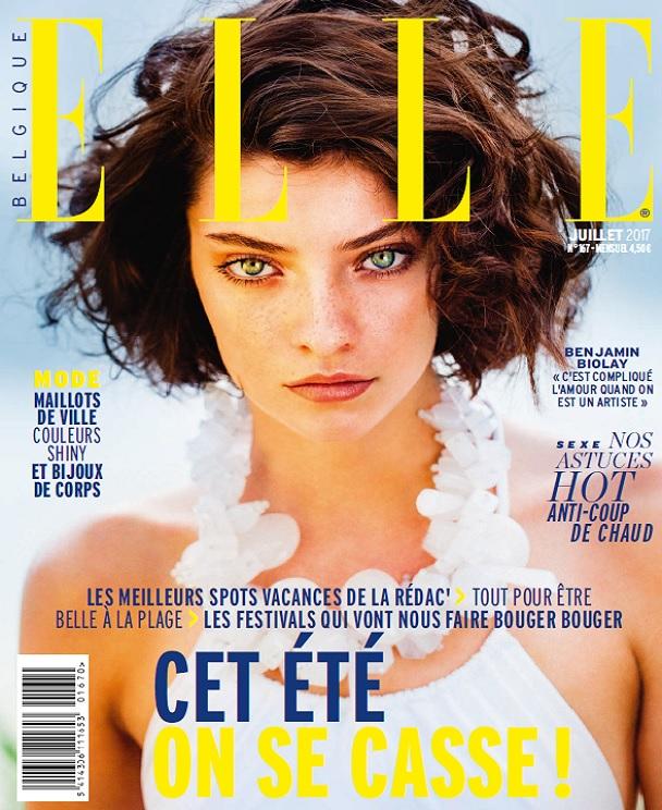 télécharger Elle Belgique N°167 - Juillet 2017