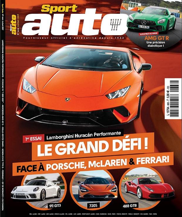 télécharger Sport Auto N°666 - Juillet 2017