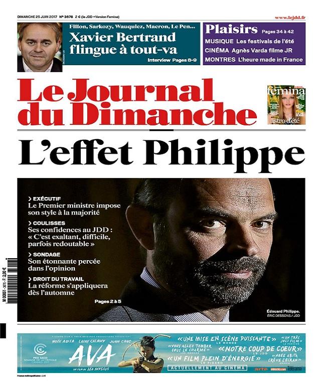 télécharger Le Journal Du Dimanche N°3676 Du 25 Juin 2017