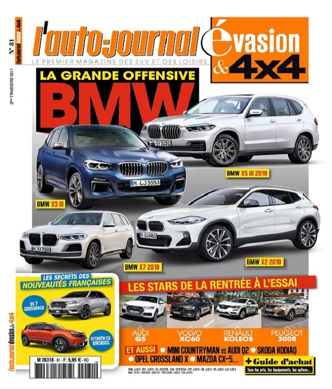 télécharger L'Auto-Journal 4x4 N°81 - Juin-Aout 2017