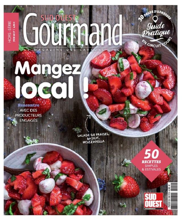 télécharger Sud Ouest Gourmand Hors Série - Juin 2017