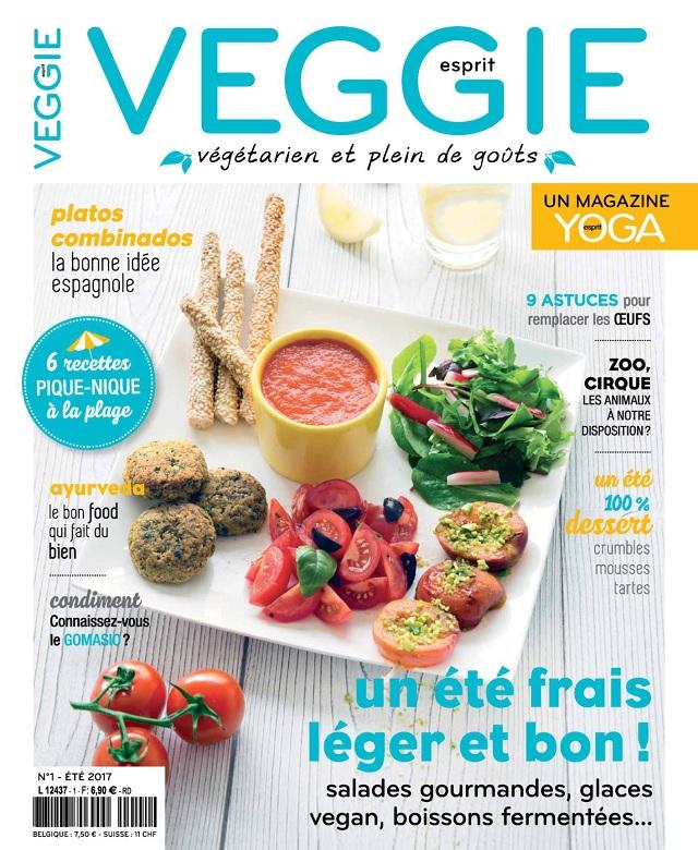 télécharger Esprit Veggie N°1 - Été 2017