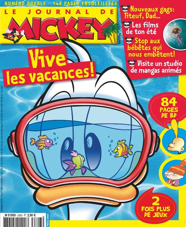 télécharger Le Journal De Mickey N°3393 Du 28 Juin 2017