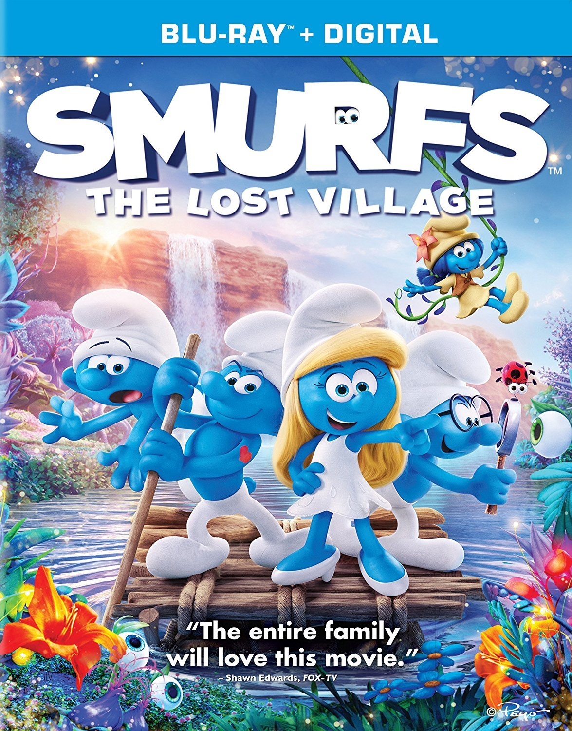 Smurfs: The Lost Village (2017) poster image
