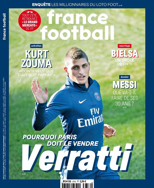 télécharger France Football N°3712 Du 27 Juin 2017