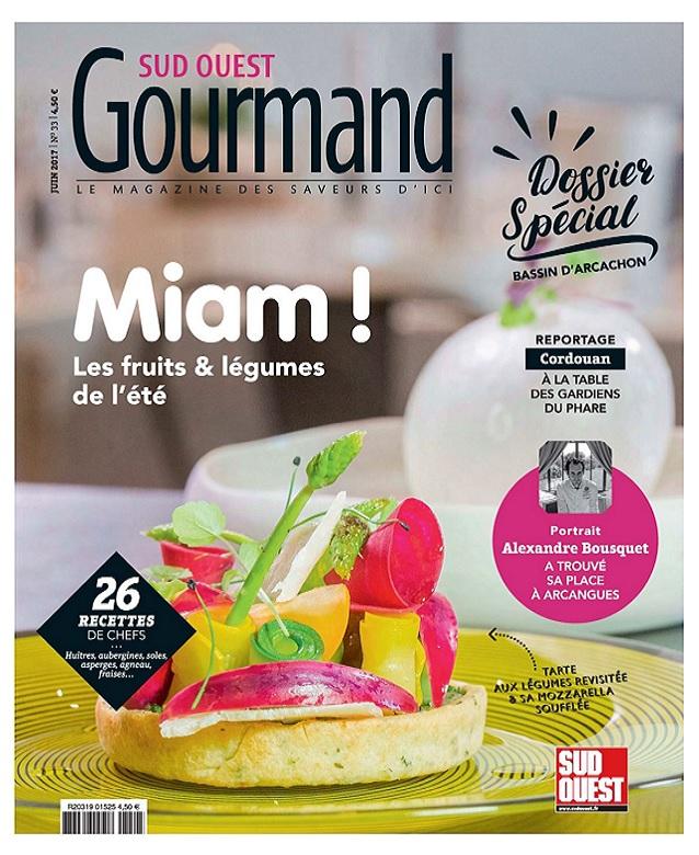 télécharger Sud Ouest Gourmand N°33 - Juin 2017