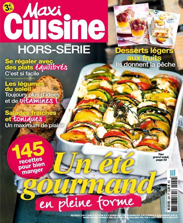 télécharger Maxi Cuisine Hors Série N°20 - Août-Septembre 2017