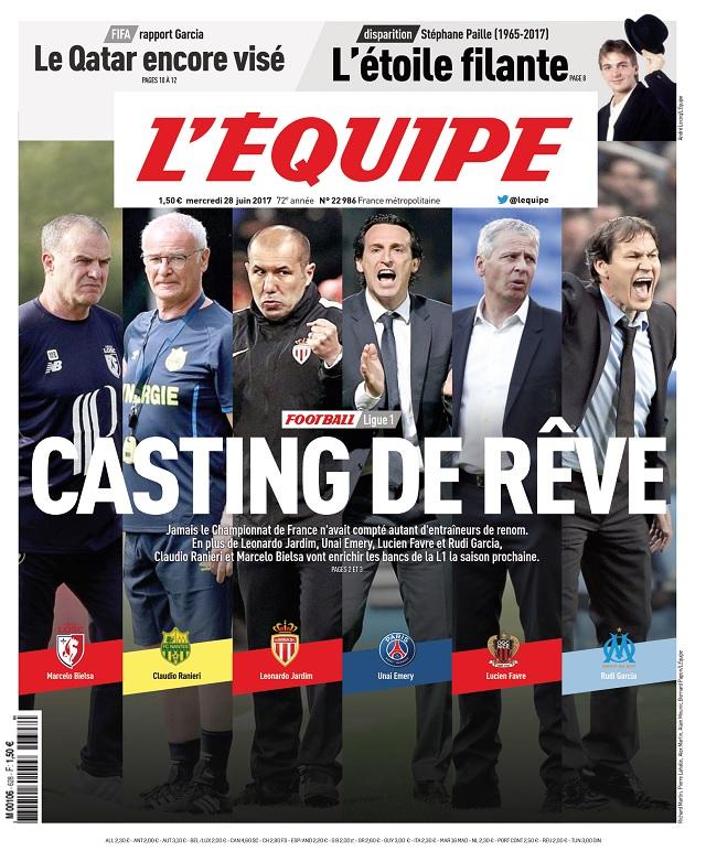 télécharger L'Equipe Du Mercredi 28 Juin 2017