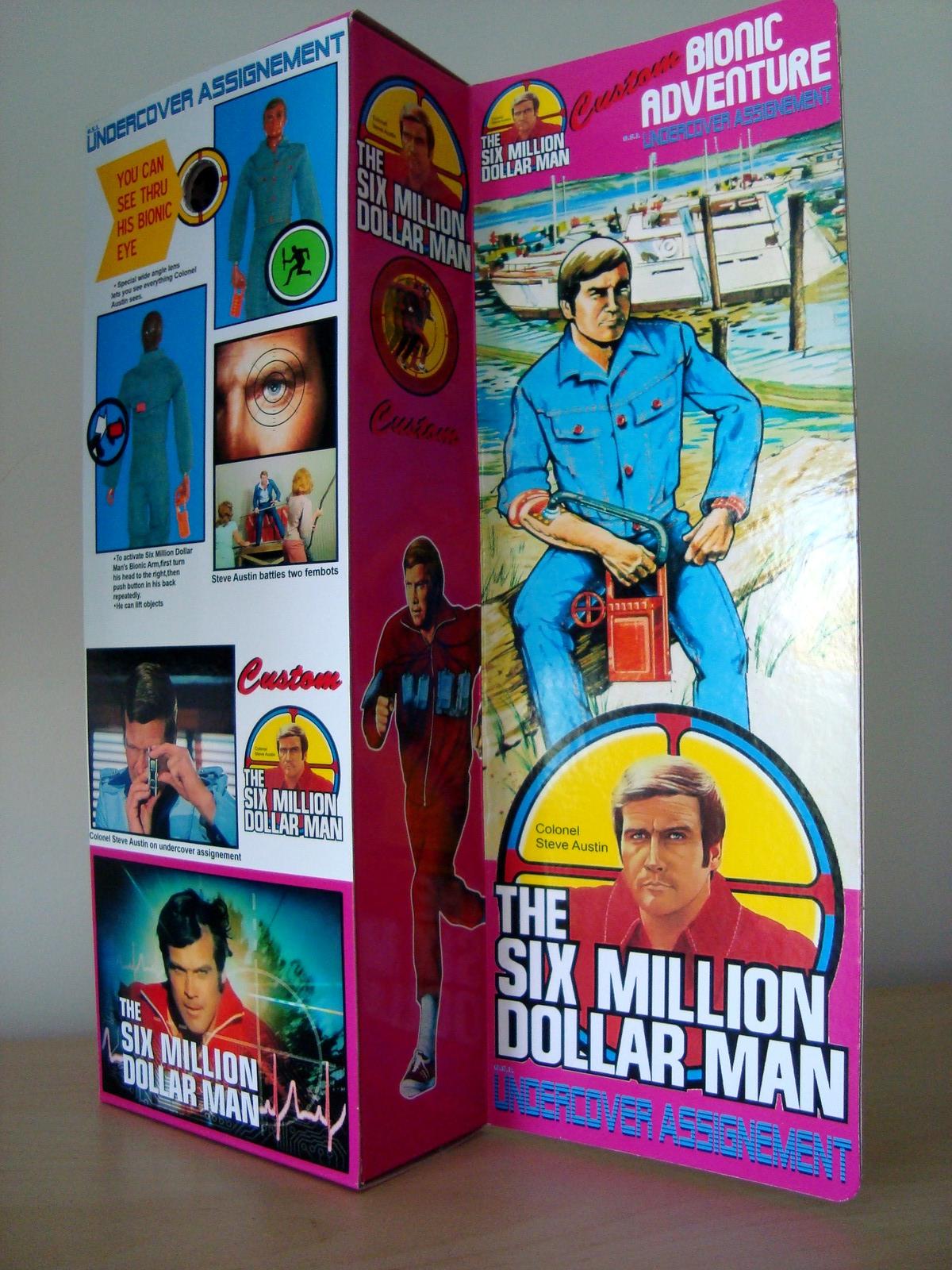 Steve Austin L'homme qui valait 3 milliards - KENNER MECCANO - Page 11 170629071249776043