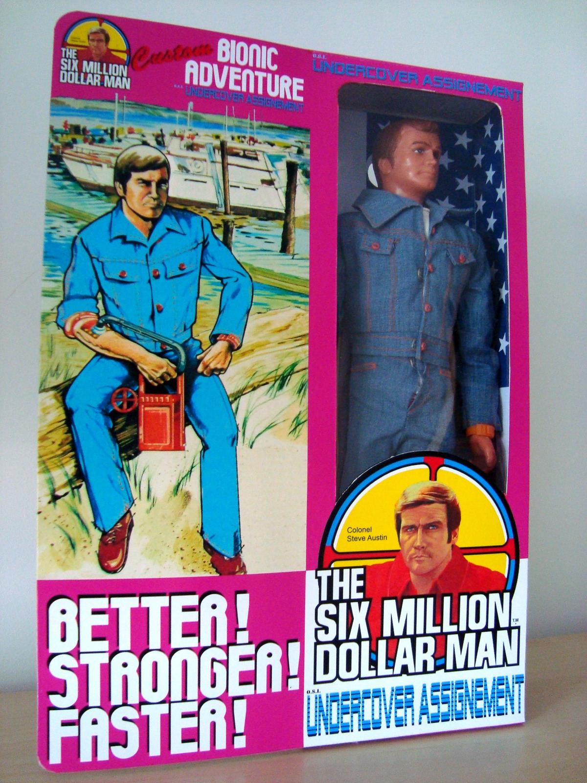 Steve Austin L'homme qui valait 3 milliards - KENNER MECCANO - Page 11 170629071253495866