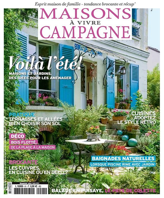 Maisons à Vivre Campagne N°91 - Juillet-Août 2017