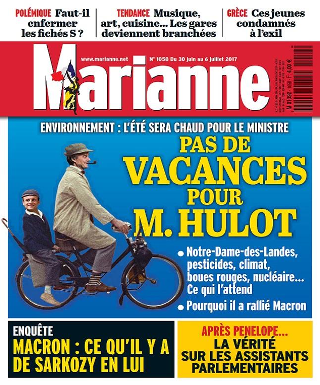 télécharger Marianne N°1058 Du 30 Juin au 6 Juillet 2017