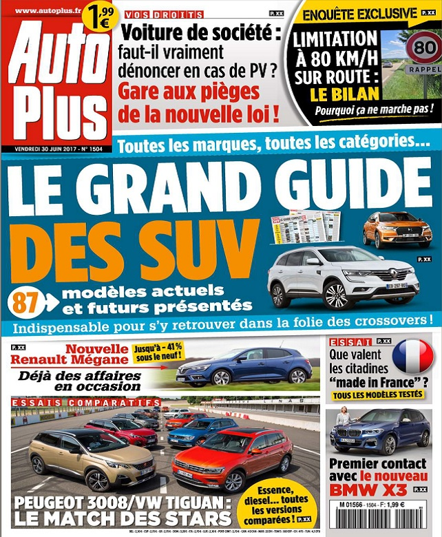 télécharger Auto Plus N°1504 Du 30 Juin 2017