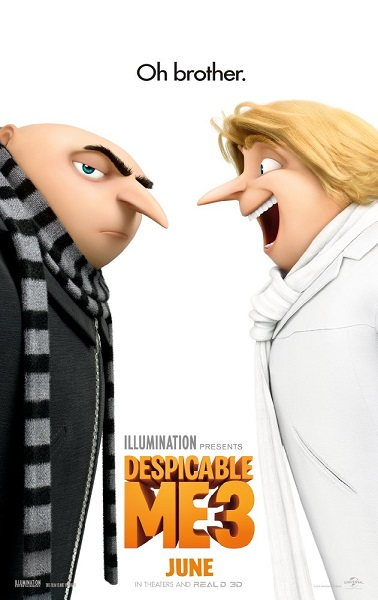 Gru, Dru i Minionki / Despicable Me 3 (2017)