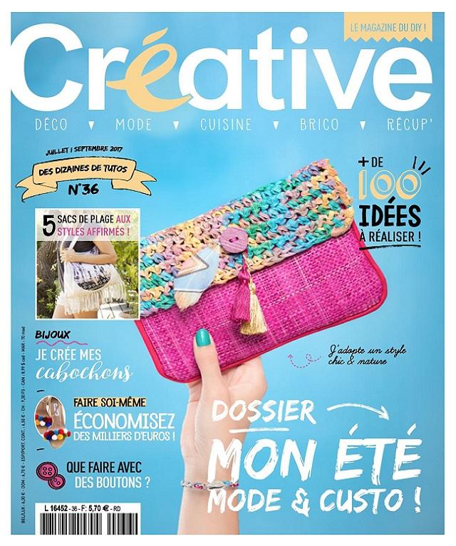 télécharger Créative N°36 - Juillet-Aout 2017