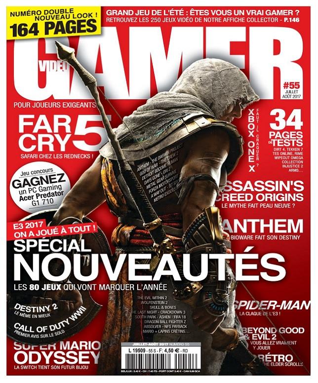 télécharger Video Gamer N°55 - Juillet-Aout 2017