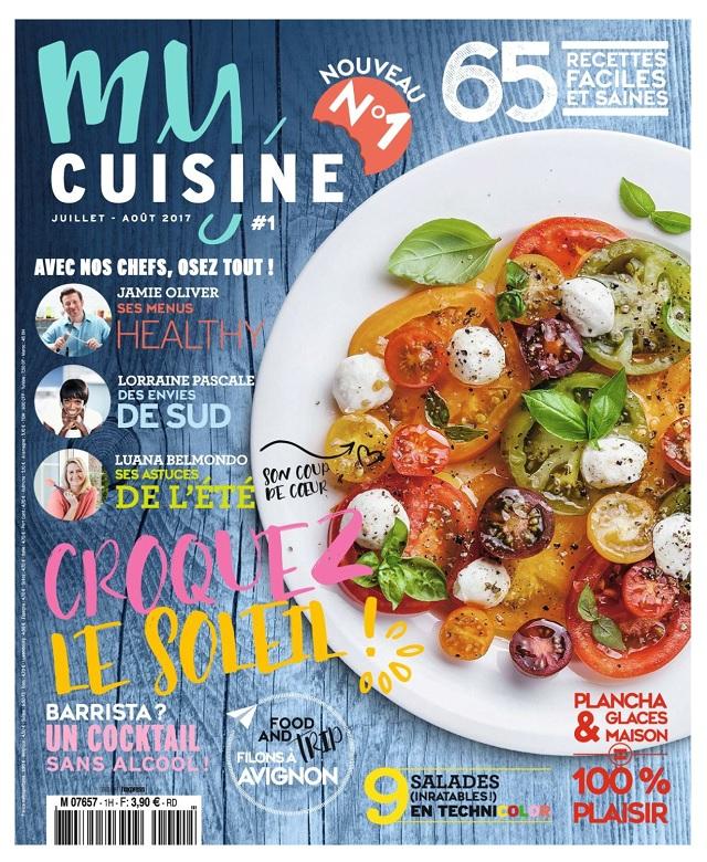télécharger My Cuisine N°1 - Juillet-Aout 2017