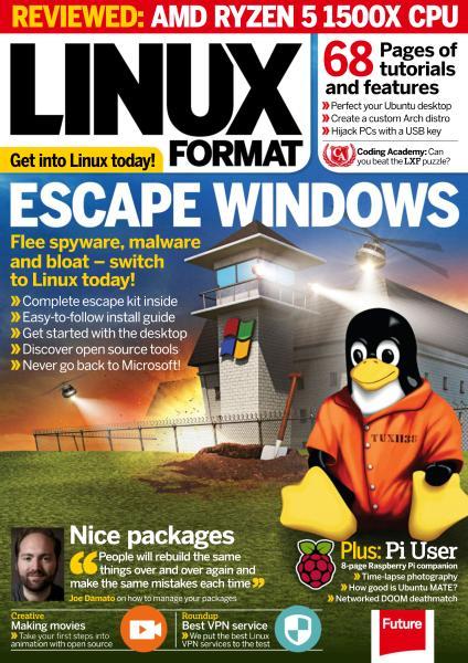 Linux Format UK – August 2017-P2P