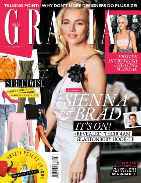 Grazia UK – 10 July 2017-P2P